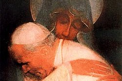 Mysterious Icon of John Paul II