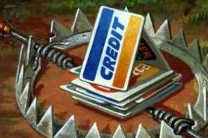Credit Cards will trap you in debt