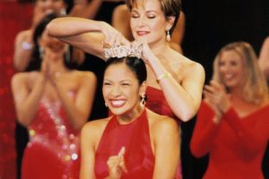 "Angela Baraquio, a lifelong Catholic, was crowned ""Miss America"" on Oct. 14, 2000."