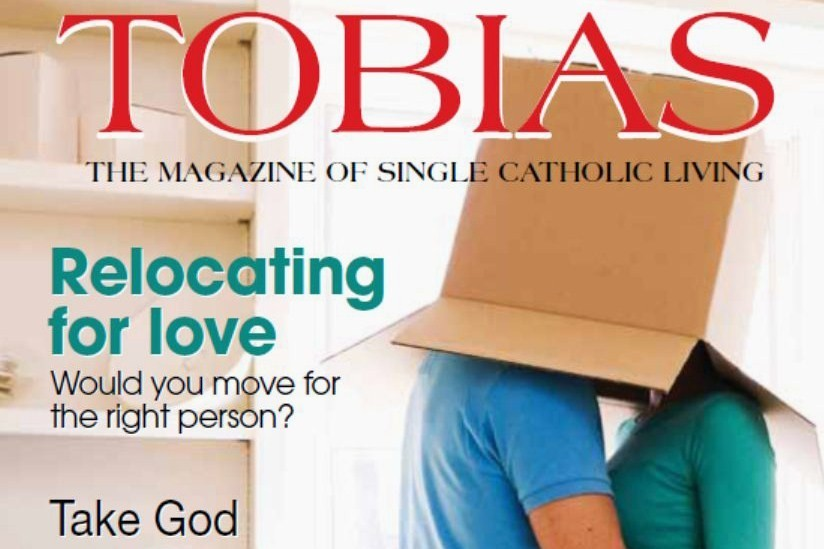The summer issue of Tobias magazine explored the risks and rewards of relocating for love.