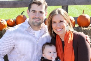 Peter and Stephanie Weinert, with son, Mark, met on CatholicMatch.com.