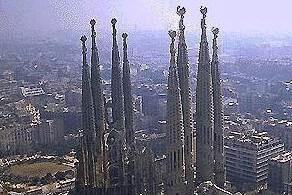 Pope Benedict XVI recently consecrated La Sagrada Familia in Barcelona as a minor basilica.