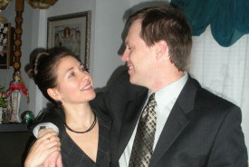 Krystina took the initiative and went to John, overcoming his doubts about long-distance.