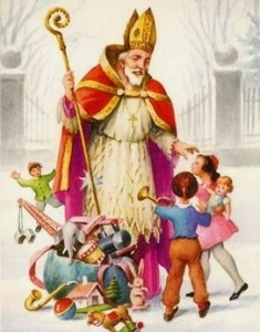 St. Nick is beloved by children and by unmarried adults.