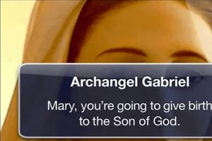 Nativity Story Text Message to Mary