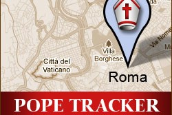 We'll be tracking Pope Benedict XVI, sharing his weekly commentary