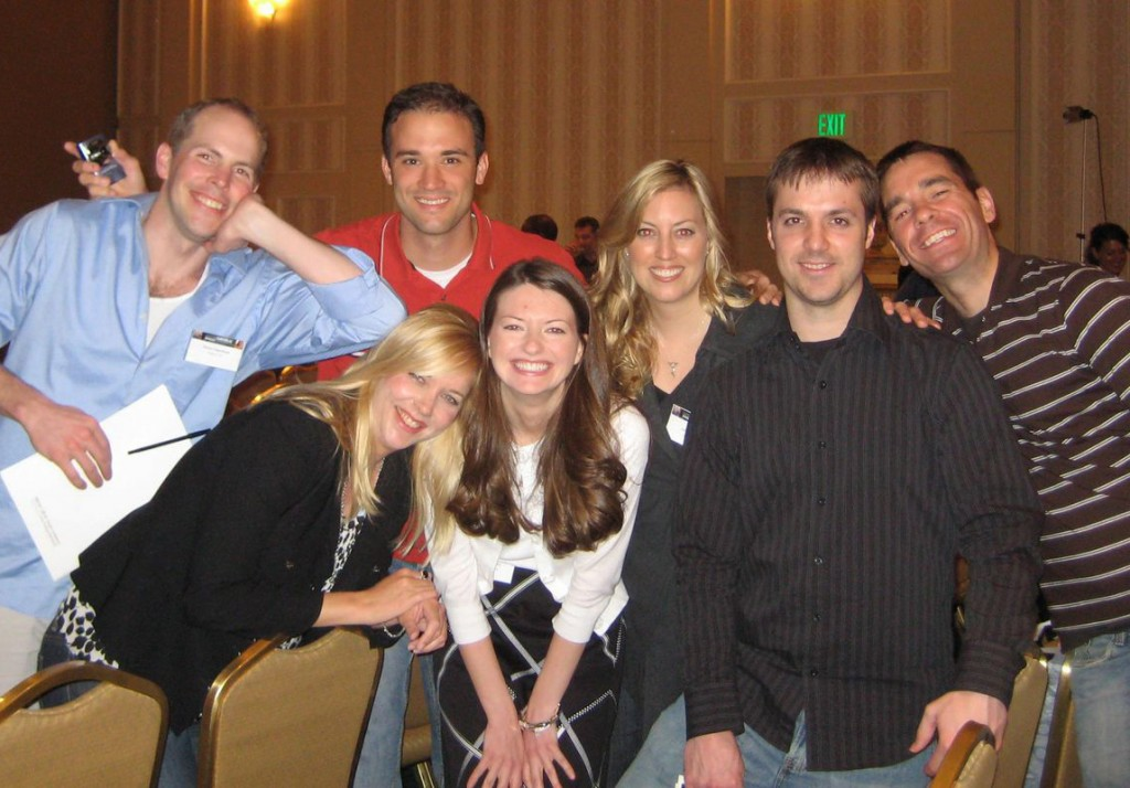 A few of the attendees at the 2008 NCSC in Chicago