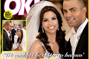 Eva Longoria wed Tony Parker on July 7, 2007.