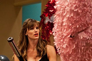 Tempted to take a bat to Valentine's Day? Meet Jennifer Garner's character in the movie Valentine's Day.