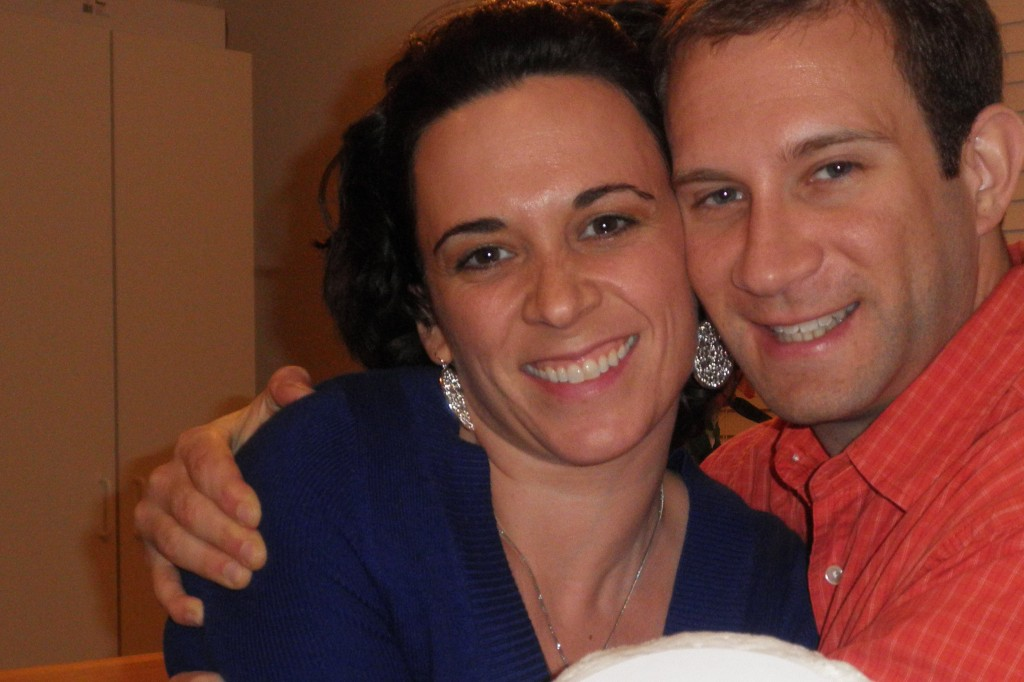 Elena and Sam celebrated their one-year anniversary in December.