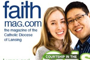 Lynne & Anthony were featured in the new issue of FAITH magazine
