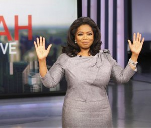 Oprah Winfrey's final episode airs today