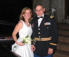 Newly married on a midsummer's eve in Connecticut, 2006