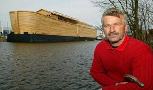 An exact replica of Noah's Ark was recently built in the Netherlands.