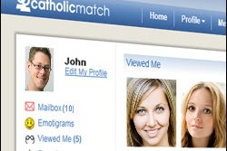 CatholicMatch unveiled a new homepage in May