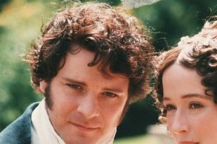 Colin Firth's 1995 portrayal of the brooding Mr. Darcy