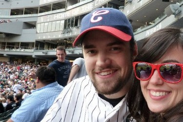 'The best first date': Sean & Keegan's first date at a White Sox game 2 years ago