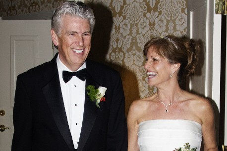 Donna and Bill brought two families together to become one.