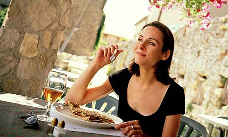 Don't be afraid to eat out alone, writes Tanya Davis