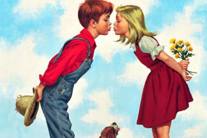 Innocent young love -- and chaste love -- come in many forms