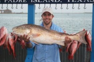 Bachelor party success: Kyle's big catch in South Padre Island