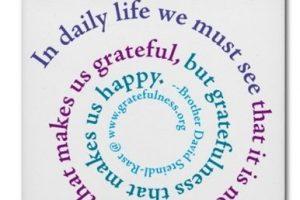 Happiness vs. gratitude
