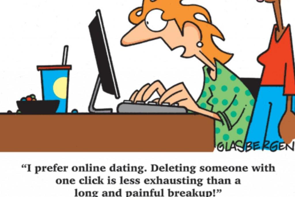 online-dating cartoon