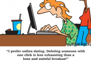 online-dating cartoon