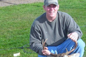 Anthony-547239, a member of CatholicMatch.com, after a successful deer hunt