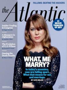 The Atlantic's November issue has singles talking