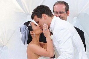 Kim Kardashian wed Kris Humphreys in August 2011