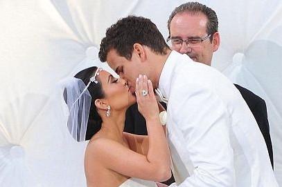 Kim Kardashian wed Kris Humphreys in August 2011