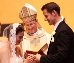the vows -- an Illinois wedding Mass