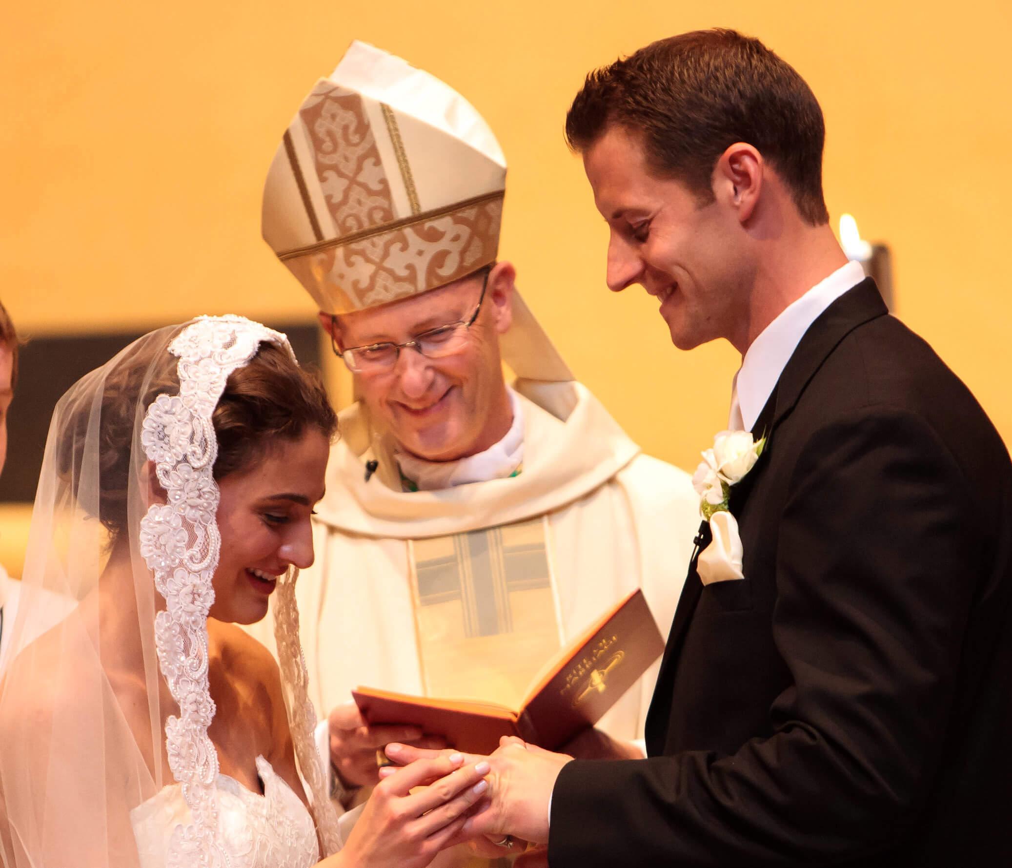 Catholic Wedding Vows: The Vows -- An Illinois Wedding Mass