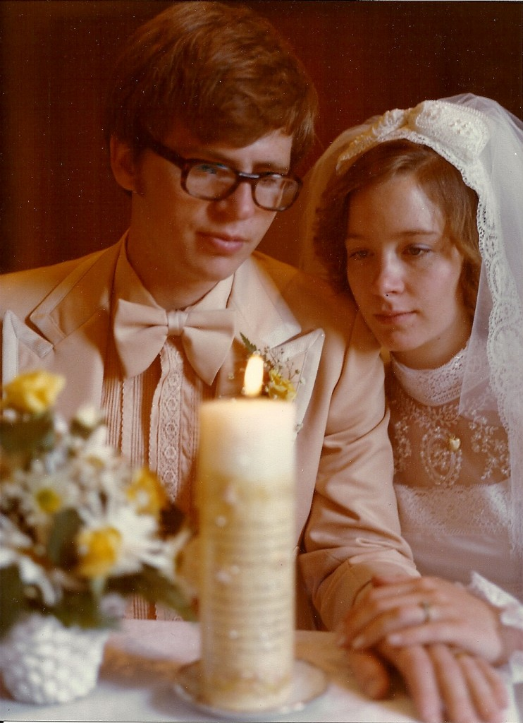 All Souls Day memories: Barb, a CatholicMatch member, married Steve in 1977