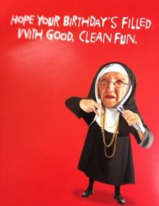 American greetings nun anything fun is sinful catholicmatch m4hsunfo