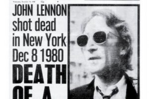 John Lennon's 1980 death united mourning Americans