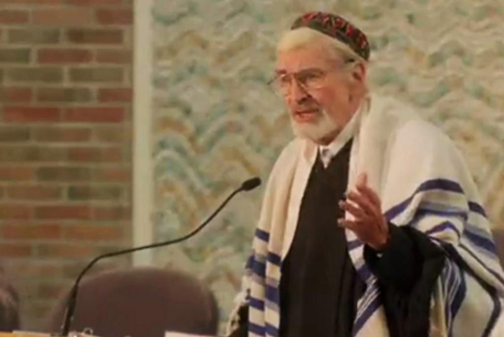 "Martin Landau plays Mitch Albom's longtime rabbi in ""Have A Little Faith"""