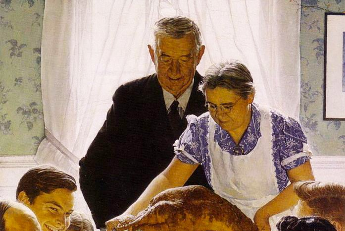 Spending the holidays single: Not every Thanksgiving is a Normal Rockwell one.