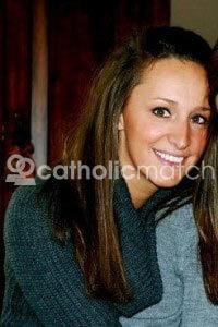 Picture of Joe Mauer's girlfriend, Maddie Bisanz (photo property of CatholicMatch.com/blog)