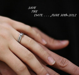 Joshua and Elena begin their lives together in June.