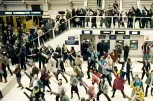 What can singles learn from flash mobs?