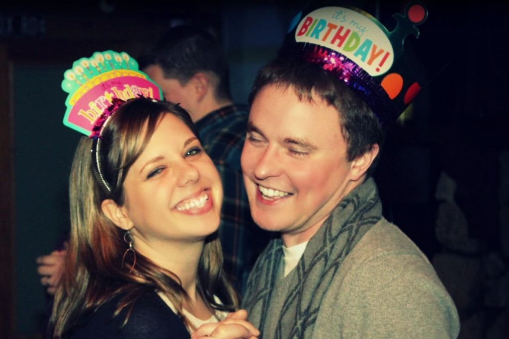 Jessica and George share the same birthday & alma mater. They met on CatholicMatch.com.