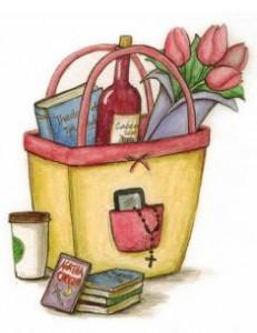 "Artwork from Emily Stimpson's new ""Survival Guide"" for single Catholic women"