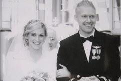 Adam & Audora found the joys of life and love together.
