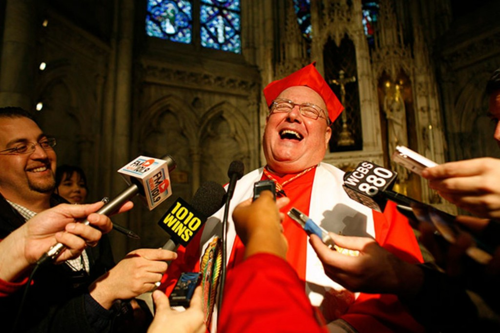 Cardinal Timothy Dolan named among TIME magazine's 100 most influential people in the world