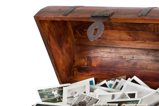 Chest of photos