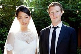 Facebook CEO Mark Zuckerberg got married last weekend.