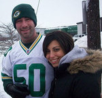 From the snow of Green Bay to the sunshine of Florida, Danielle and Dirk went the distance for each other.