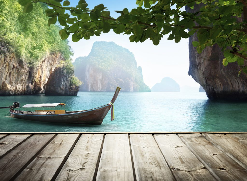 beach-vacation-boat-tropical